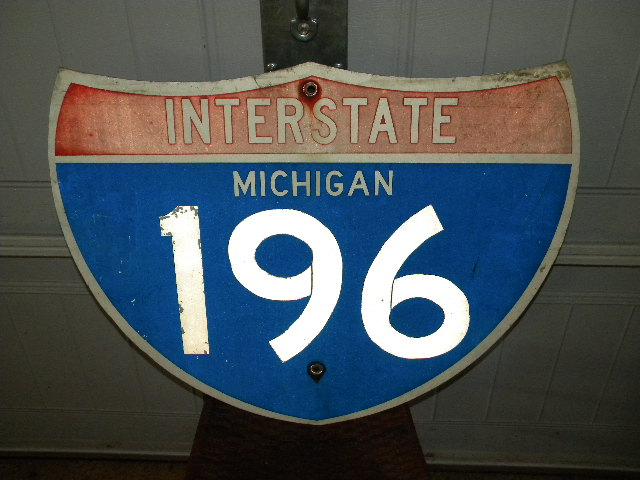 Michigan I-196 Sign $OLD