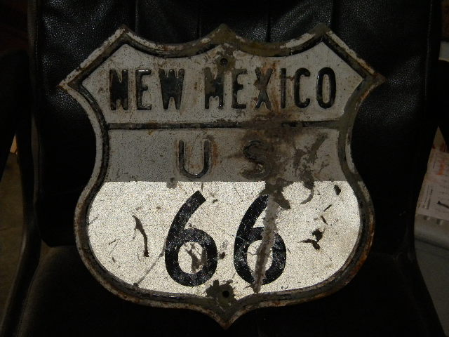 $OLD New Mexico Route 66 Sign Original