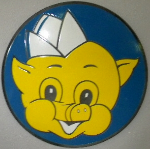 SOLD: Piggly Wiggly Porcelain sign