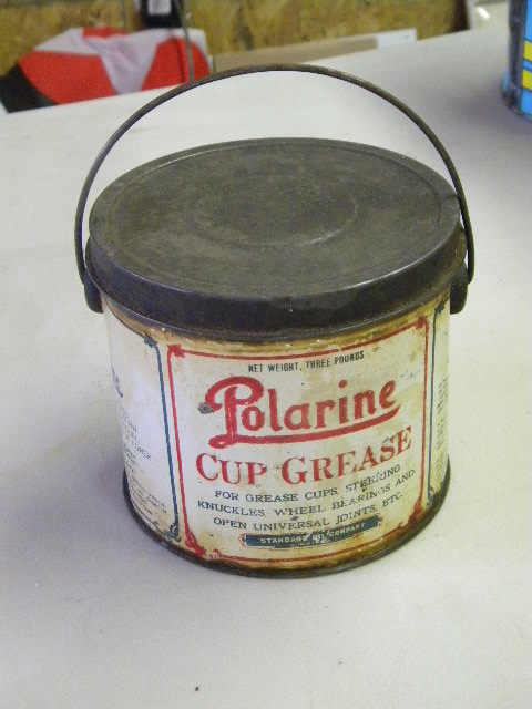 $OLD Polarine Grease Can