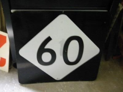 NC Route 60 State Highway Marker Sign $OLD