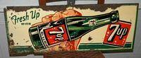$OLD 7Up Tin Sign