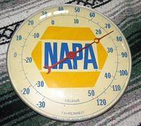 Napa Pam Thermometer Original $OLD