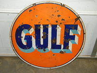 $OLD Gulf DSP 30 Inch Sign