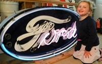 SOLD: Ford Porcelain Neon Sign