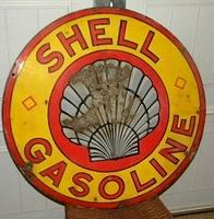 SOLD: Shell Early Porcelain Sign