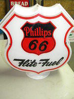 $OLD Phillips 66 Flite Fule Gas Pump Globe