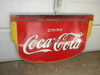 $OLD Early Coca Cola DSP Porcelain Sign