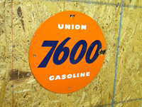 $OLD Union 7600 Pump Sign