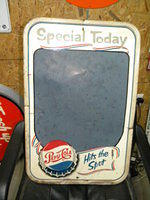 $OLD Pepsi Cola Menu Board